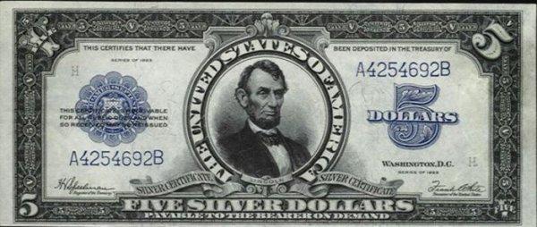 Oskarmiguel Billetes Antiguos De Los Estados Unidos