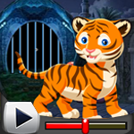 G4K Cute Tiger Rescue Gam…