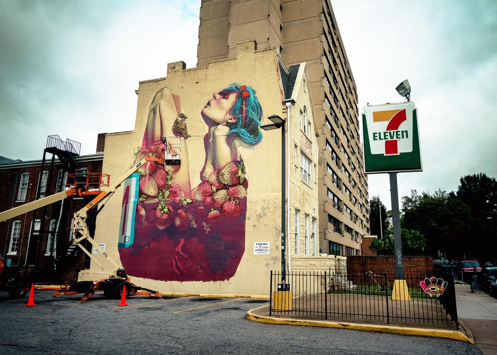 Etam Cru New Mural In Richmond, USA | StreetArtNews ...