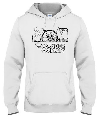 Wander Woman T Shirt Hoodie Sweatshirt Sweater Jacket Tank Tops