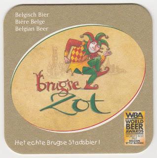 Sous-bock de la biére Brugse Zot