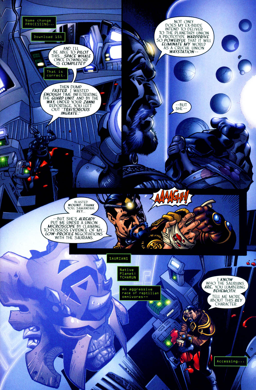 Read online Sigil (2000) comic -  Issue #12 - 9