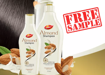 Free Sample of Dabur Almond Shampoo