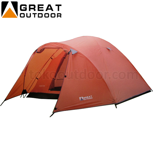 Kapasitas 4 Orang : Tenda Great Outdoor Java Image