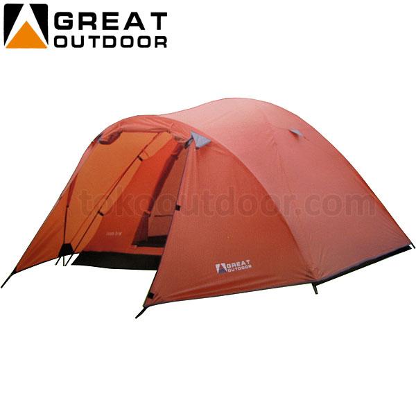Kapasitas 4 Orang : Tenda Great Outdoor Java Image