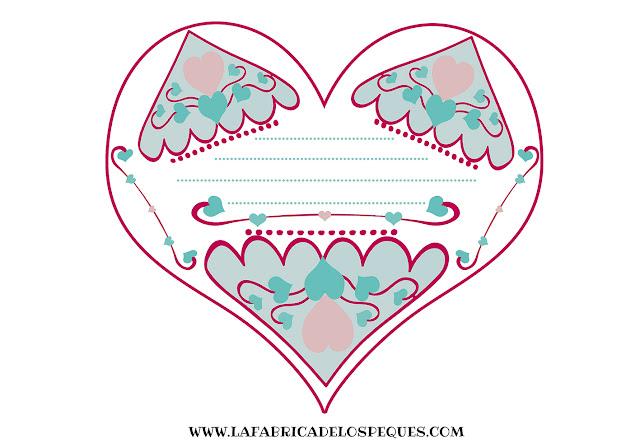 tarjetas corazón san valentín