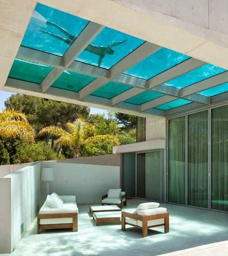 Construindo minha casa clean as encantadoras piscinas de for Piscinas modernas para casas