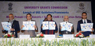 HRD Ministry Launched 5 Documents of Quality Mandate