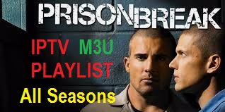 Prison Break Series,   IPTV M3U Playlist