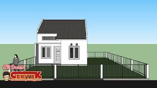 Desain Rumah Minimalis Sederhana 39m²