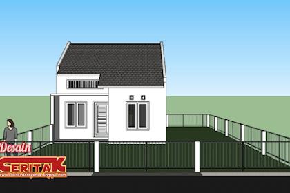 Desain Rumah Minimalis Sederhana luas 6×6.5 m