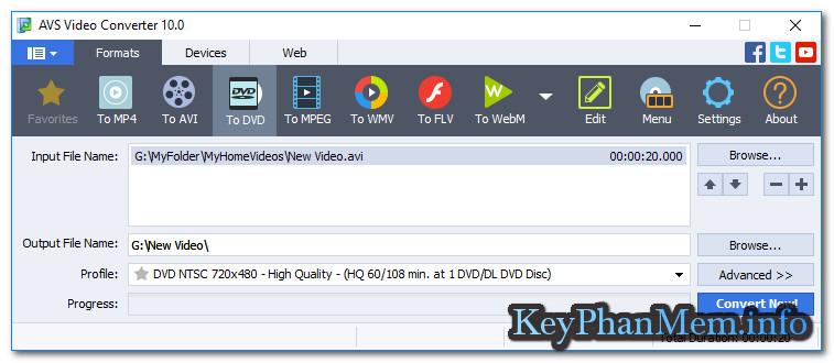 Download AVS Video Converter 10.1 Full Key, Phần mềm chuyển đổi Video siêu nhanh