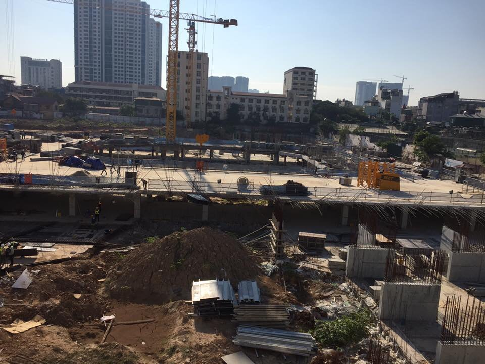 Tiến độ xây dựng chung cư GoldSeason 47 Nguyễn Tuân