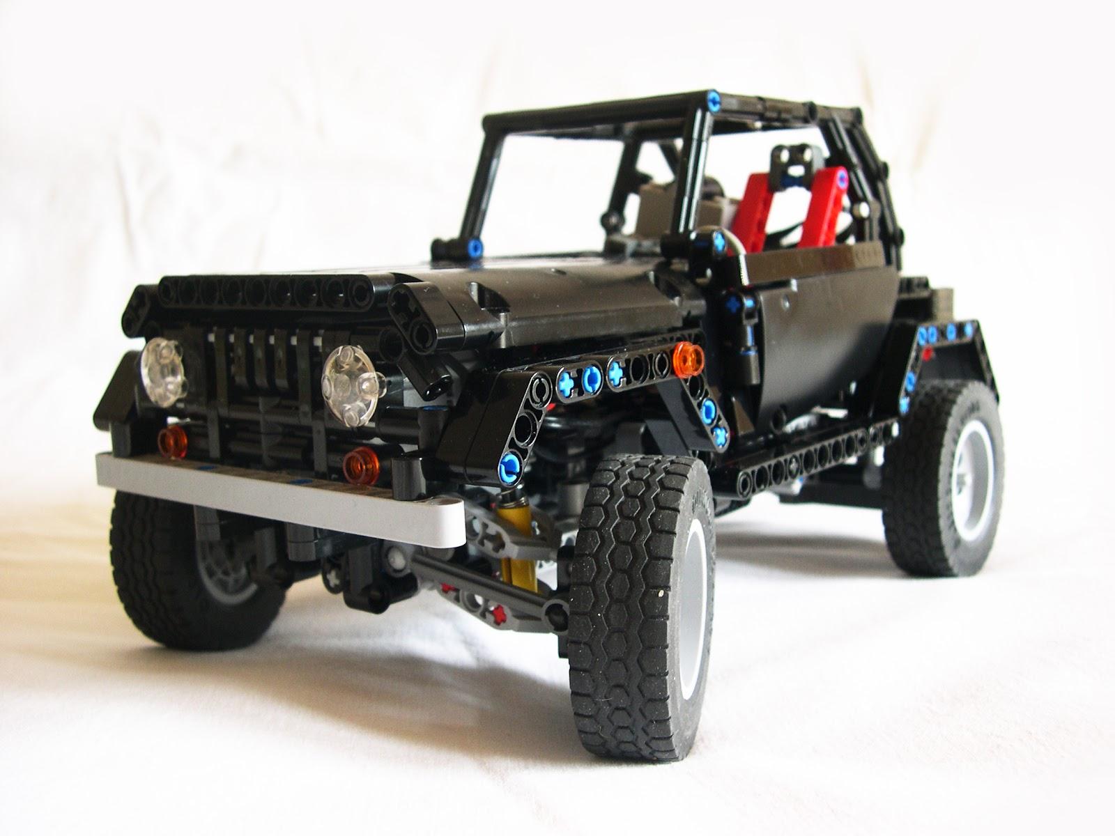 piterpunx 39 s lego technic rc jeep wrangler lego technic. Black Bedroom Furniture Sets. Home Design Ideas