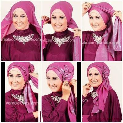 Tutorial Hijab Akad Nikah