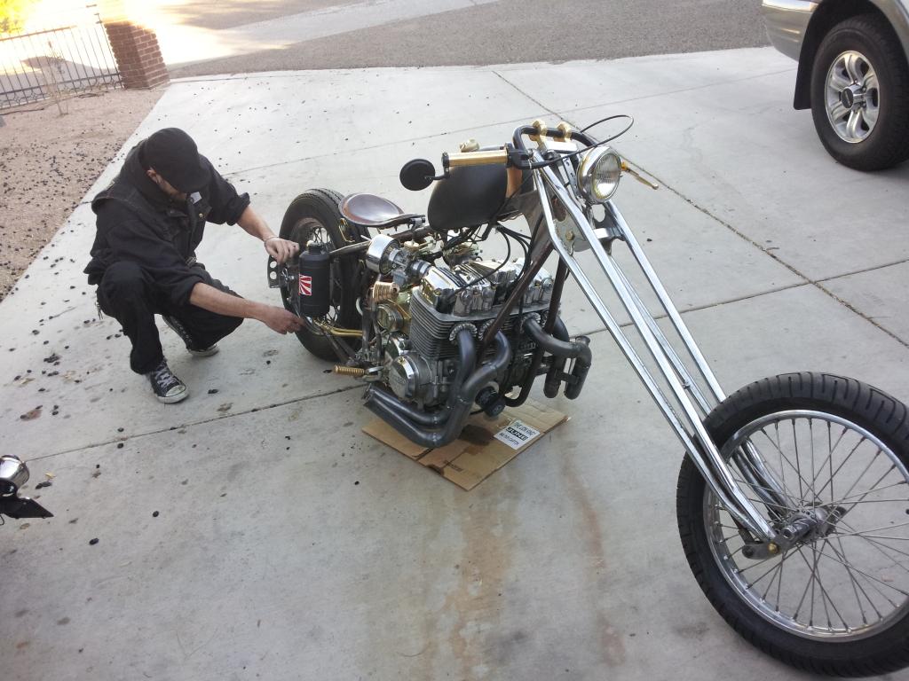 Honda CB Lowrider Modifikasi Terbaru