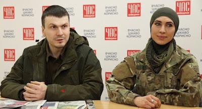Убито чеченську добровольця Окуеву, її чоловіка – поранено