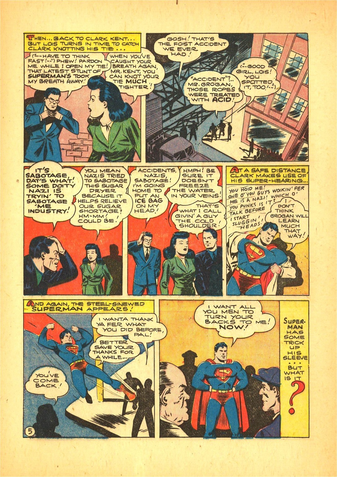 Read online Action Comics (1938) comic -  Issue #72 - 6
