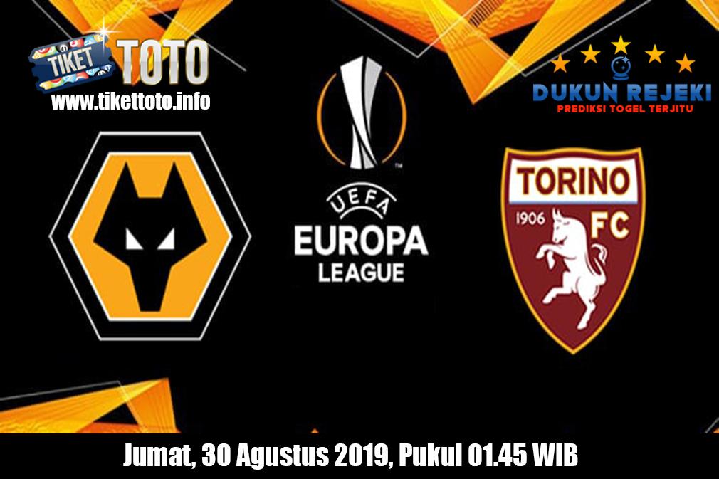 Prediksi Europa League Wolverhampton Wanderers VS Torino 30 Agustus 2019