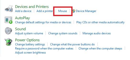 Klik Mouse.