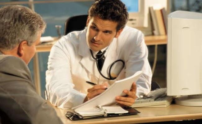 Jika anda menghidap kencing manis dan mengalami mati pucuk, berjumpalah dengan doktor