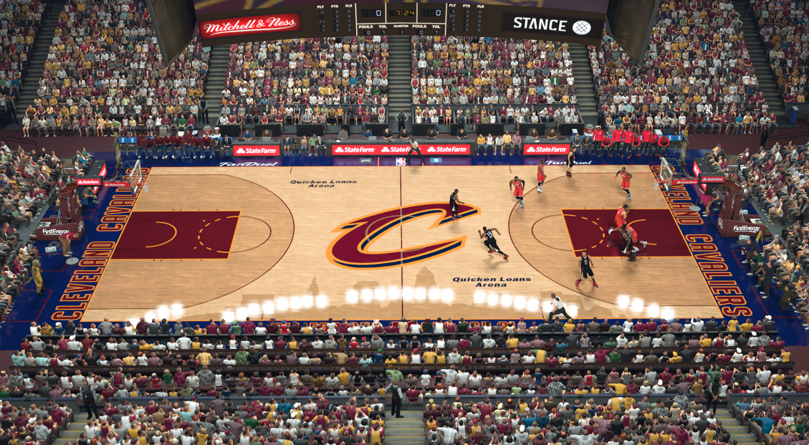 Manni Live│2K Patches: Cleveland Cavaliers Quicken Loans ...