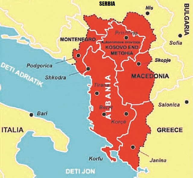 Serbia do be confined by Great Albania, Vuk Jeremić predicts