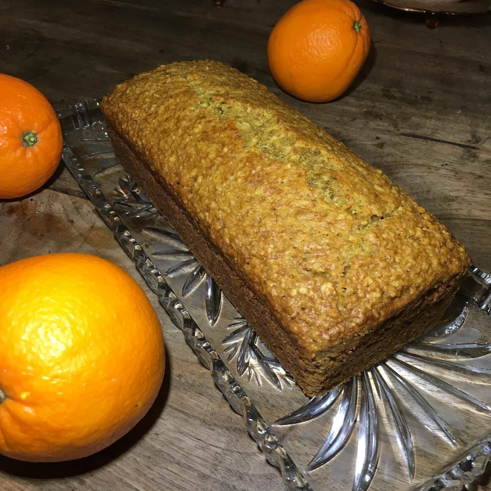 Ein Stuck Heile Welt Orangen Karotten Kuchen