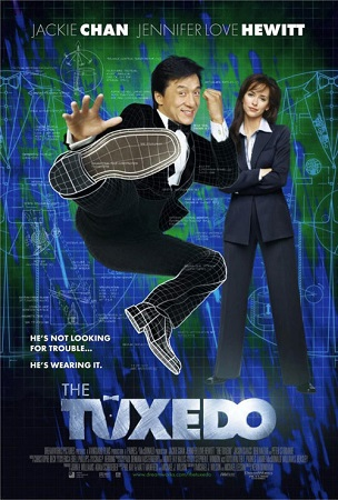 Poster Of The Tuxedo 2002 Dual Audio 720p Web-DL [Hindi - English] ESubs Free Download Watch Online