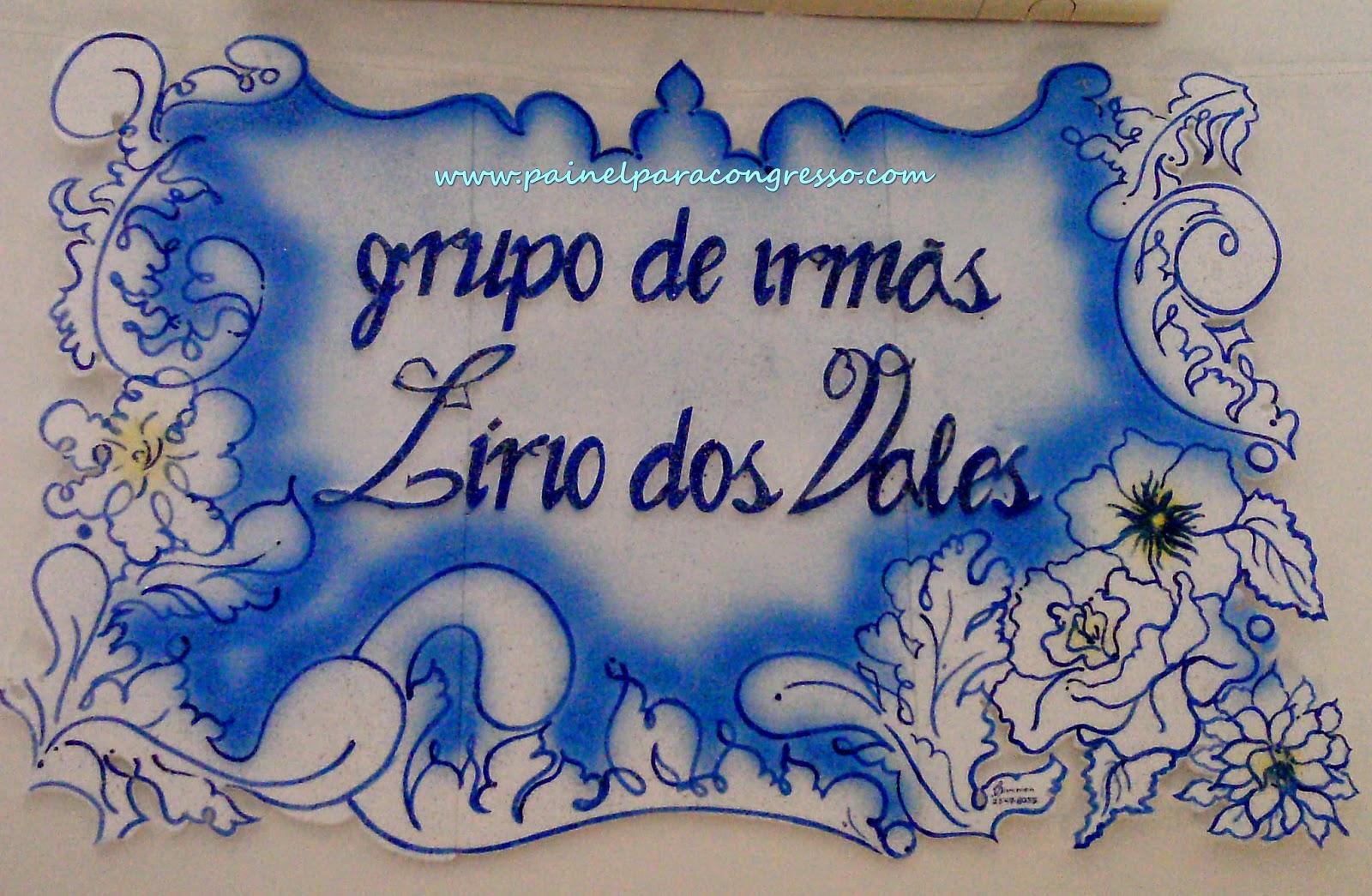 Grupo de irmãs LÍRIO DOS VALES  /  painel número 49