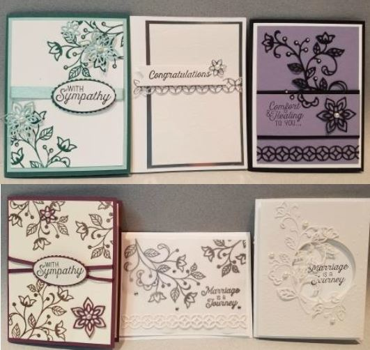 Free PDF, Floursigh Phrases, Dies, Cards, Stampin Up, Appreciation, FREE
