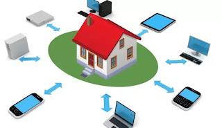 creare rete casa