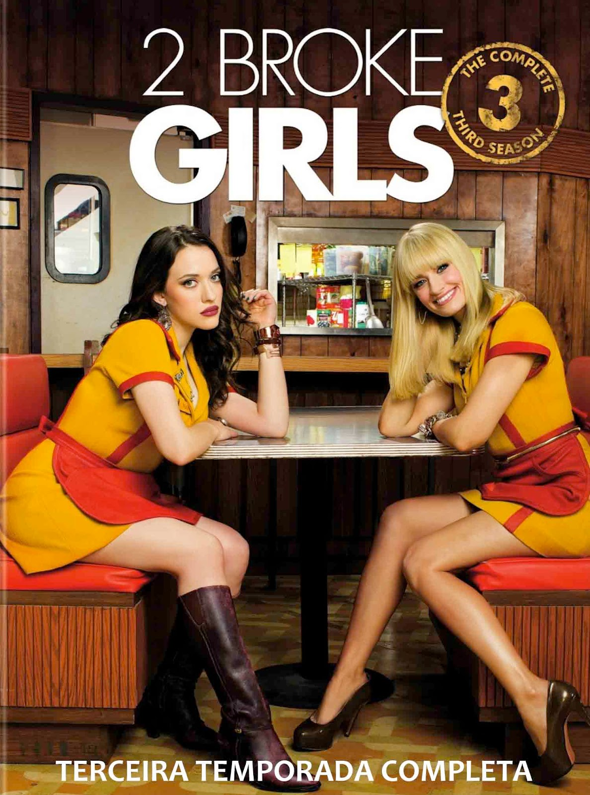 2 Broke Girls 3ª Temporada Torrent - BluRay 720p Dublado