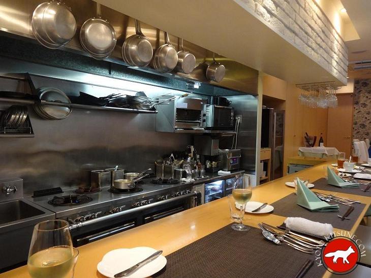 C 39 est sympa restaurant francais a kyoto for Japonais cuisine ouverte