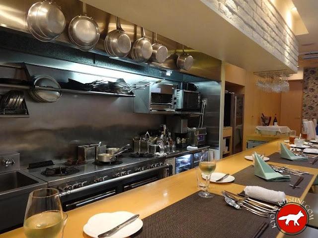 cuisine du restaurant c'est sympa à Kyoto