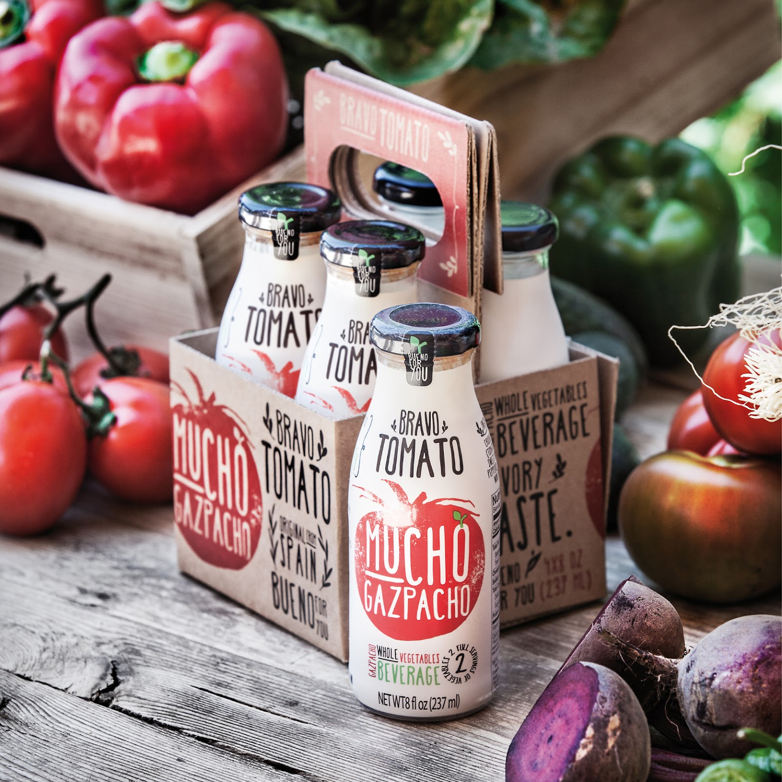Mucho Gazpacho on Packaging of the World  Creative