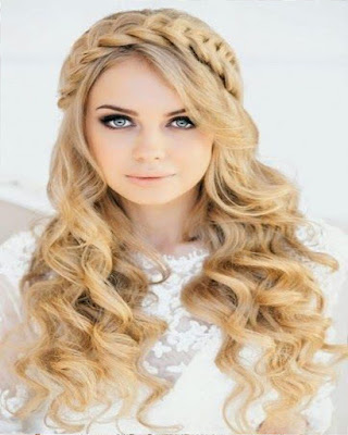 chica tumblr con peinado elegante para fiesta de gala