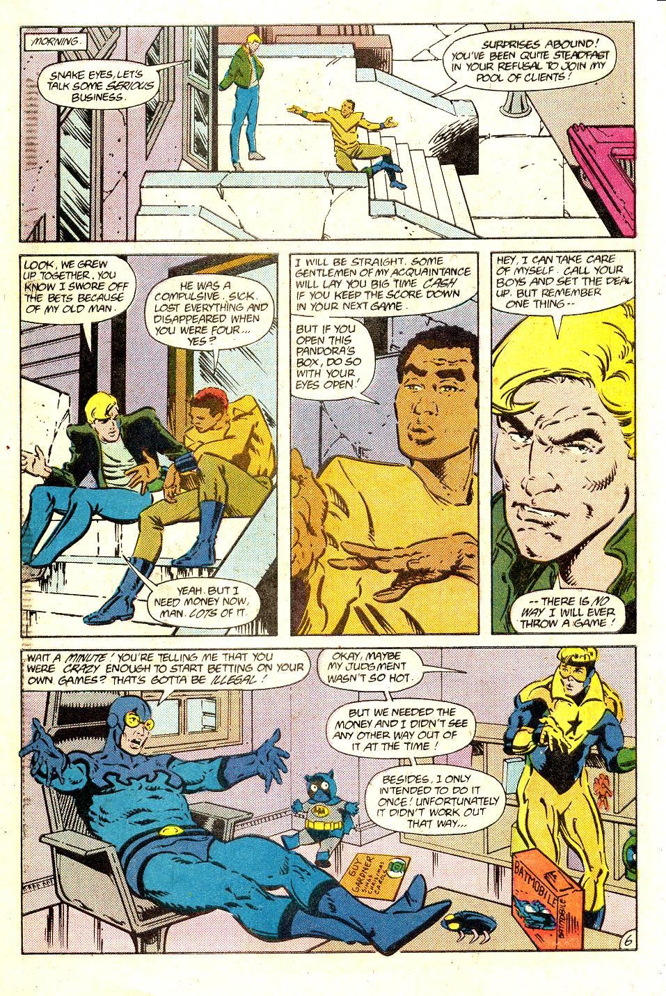 Read online Secret Origins (1986) comic -  Issue #35 - 8