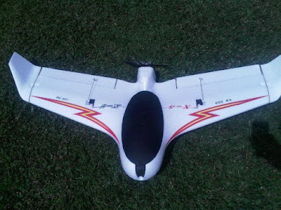 Fixed Wing untuk Long Range Flight Drone Aerial Photography