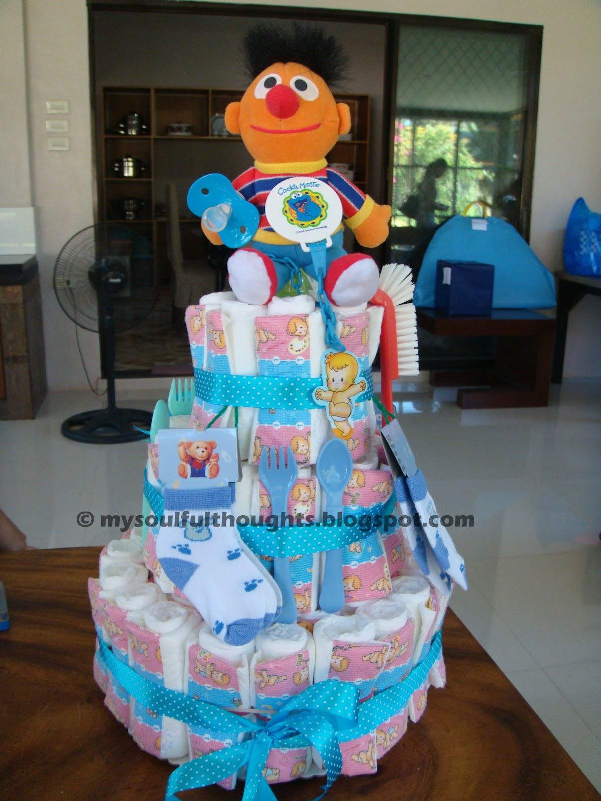 Heart Of Rachel How To Make An Easy Diaper Cake