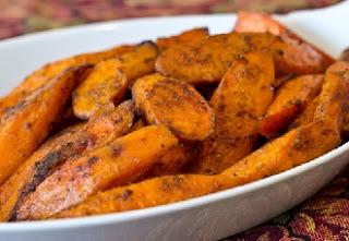 запеченная в духовке вкусная морковь гарнир