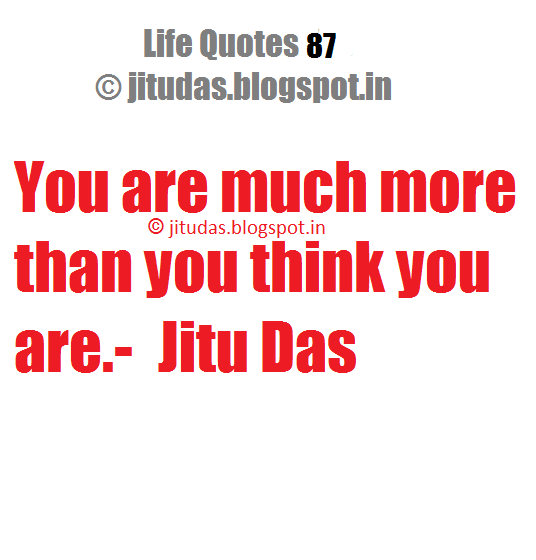 Love and peace quotes ( Life Quotes part 11) by Jitu Das