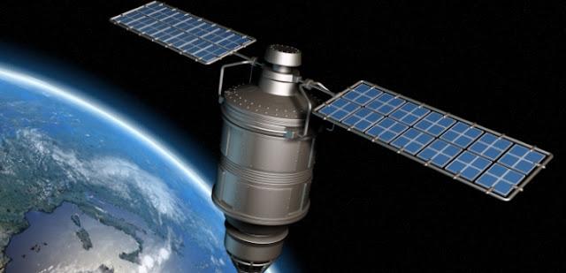 Imagem de um dos satélites que são mostradas na internet