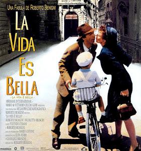 Poster de la película La vida es bella, de 1997 | Ximinia