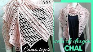 Cómo Tejer el Chal Escalonado a Crochet