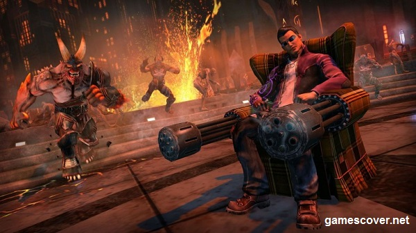 Saints Row: Gat Out of Hell Story