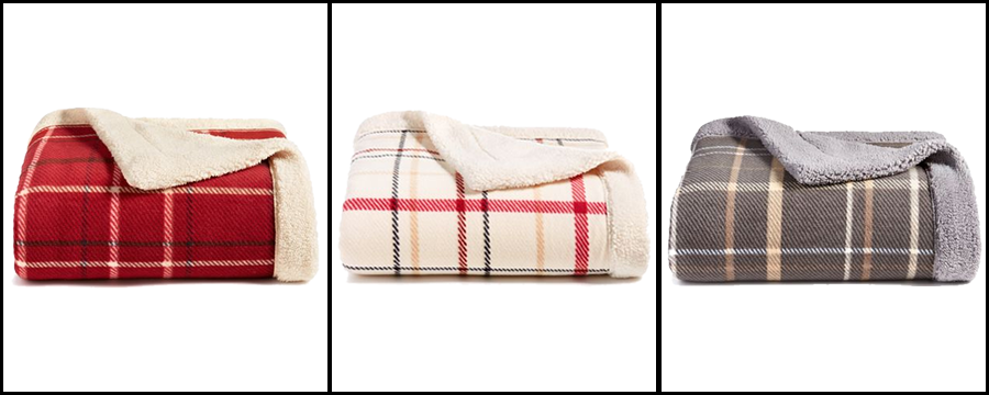Classic Reversible Sherpa Throw