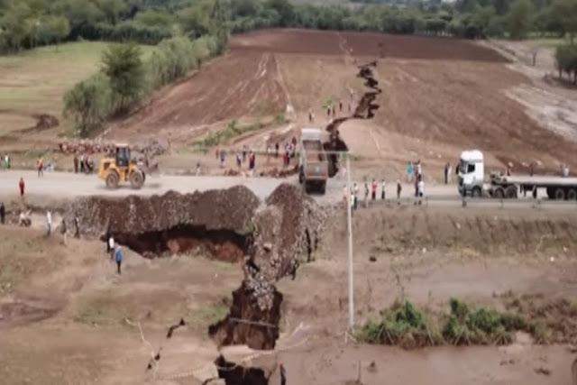 Τεράστιο ρήγμα στην Κένυα μετά από σεισμούς - Η Αφρική θα κοπεί στα δυο; (βίντεο)