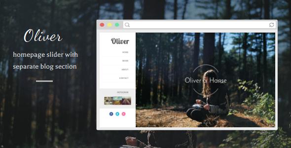Oliver - Responsive Blogger Template