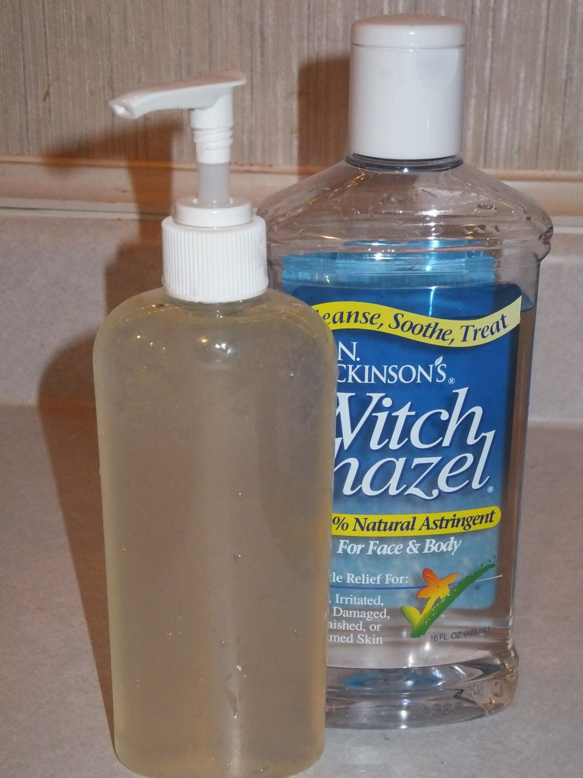 Natural Hand Sanitizer Recipe Alcohol Free